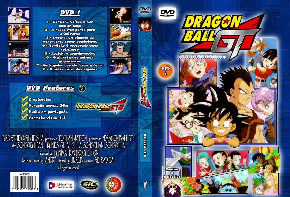 dragon ball gt completo dublado rmvb