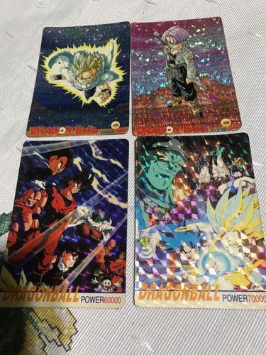dragon ball hologramas cards art collection