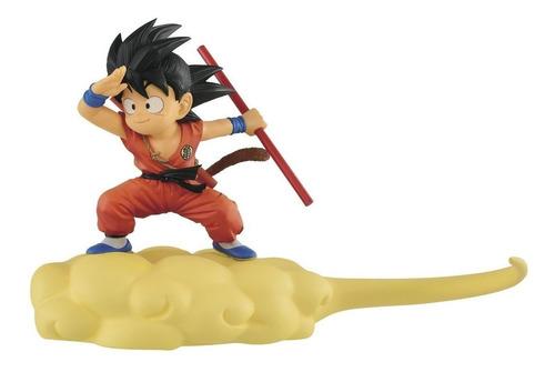 dragon ball kid goku & nube voladora ( original) banpresto