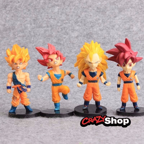 dragon ball kit 20miniaturas dragonball boneco colecionar
