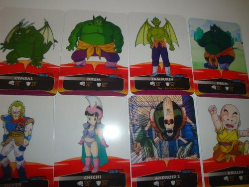 dragon ball laminas cards sobre 3 sobres 39 soles