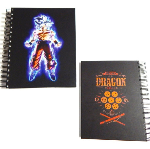 dragon ball libreta doctrina egoista fase pasta dura 180 hjs