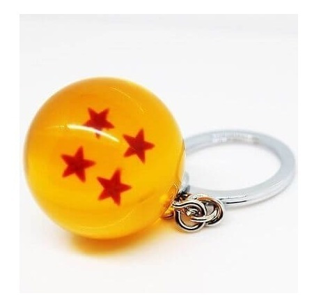 dragon ball llavero esfera 4 estrellas goku envio gratis