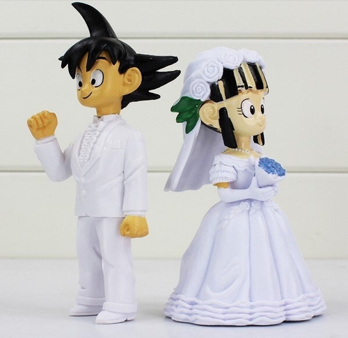 dragon ball milk y goku boda