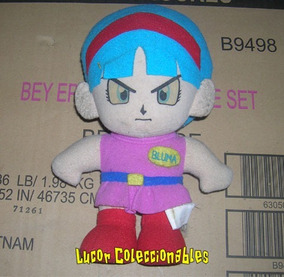 Dragon Ball Peluche Antiguo De Bulma Banpresto Lcatoy79