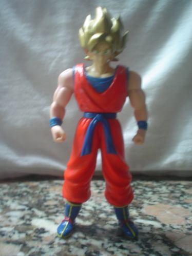 dragon ball  serie b.s./s.ta super son goku cabello dorado