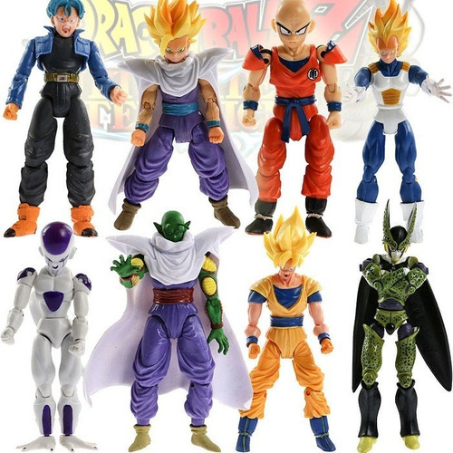 dragon ball set 8 figuras