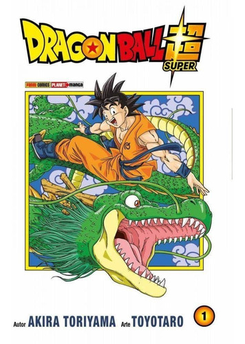 dragon ball super 1! mangá panini! novo e lacrado
