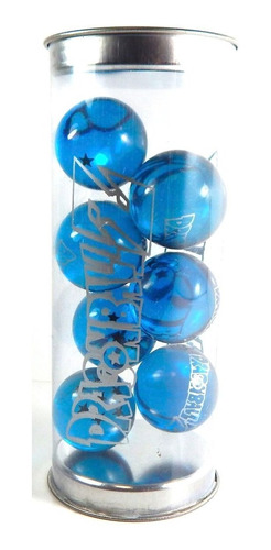 dragon ball super 7 esferas del dragon shen long azul de 3cm