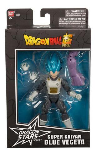 dragon ball super  boneco blue vegeta - fun divirta-se