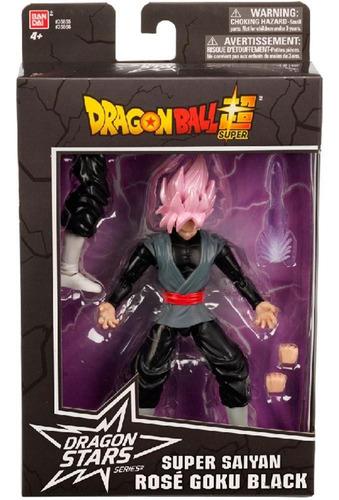 dragon ball super boneco rose goku black - fun divirta-se
