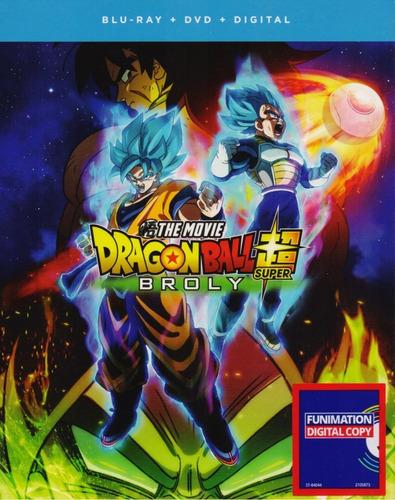 dragon ball super broly 2018 pelicula blu-ray + dvd