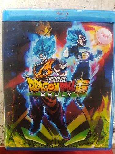 dragon ball super broly blu ray + dvd latino