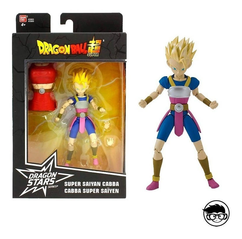 Dragon Stars Series 5 ~ SUPER SAIYAN CABBA ACTION FIGURE ~ DBZ