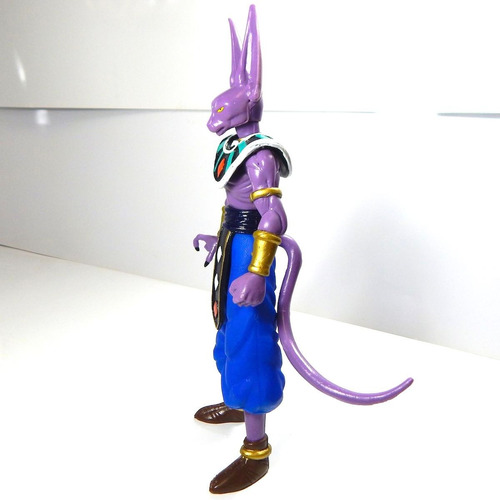dragon ball super figura juguete bills sama beerus luz 25cm
