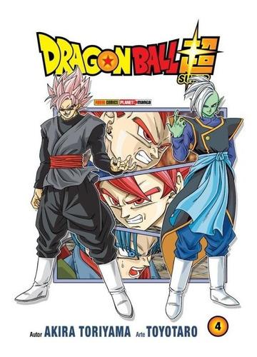 dragon ball super - vol 4 - panini