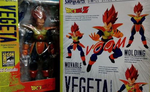 dragon ball vegeta scouter shfiguarts nuevo en caja altern