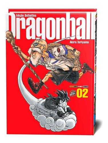 dragon ball - volume 2 - edição definitiva - capa dura