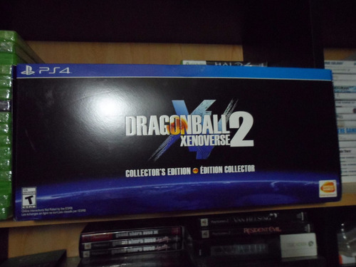 dragon ball xenoverse 2 edicion coleccion ps4 nuevo sellado