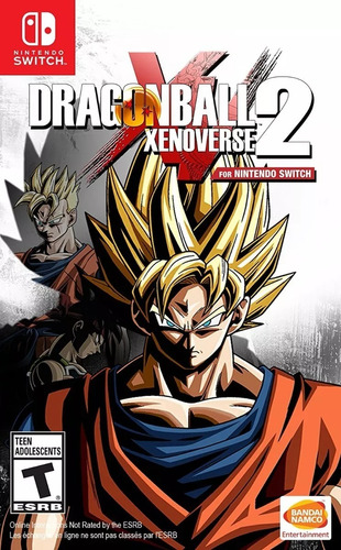 dragon ball xenoverse 2 nintendo switch nuevo físico sellado