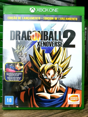 dragon ball xenoverse 2 xbox one midia fisica - seminovo -