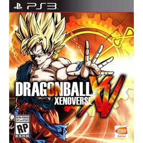 Dragon Ball Xenoverse Ps3   Digital Oferta Limitada!
