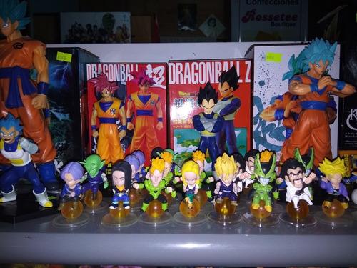 dragon ball y caballeros del zodiaco gashapones anime