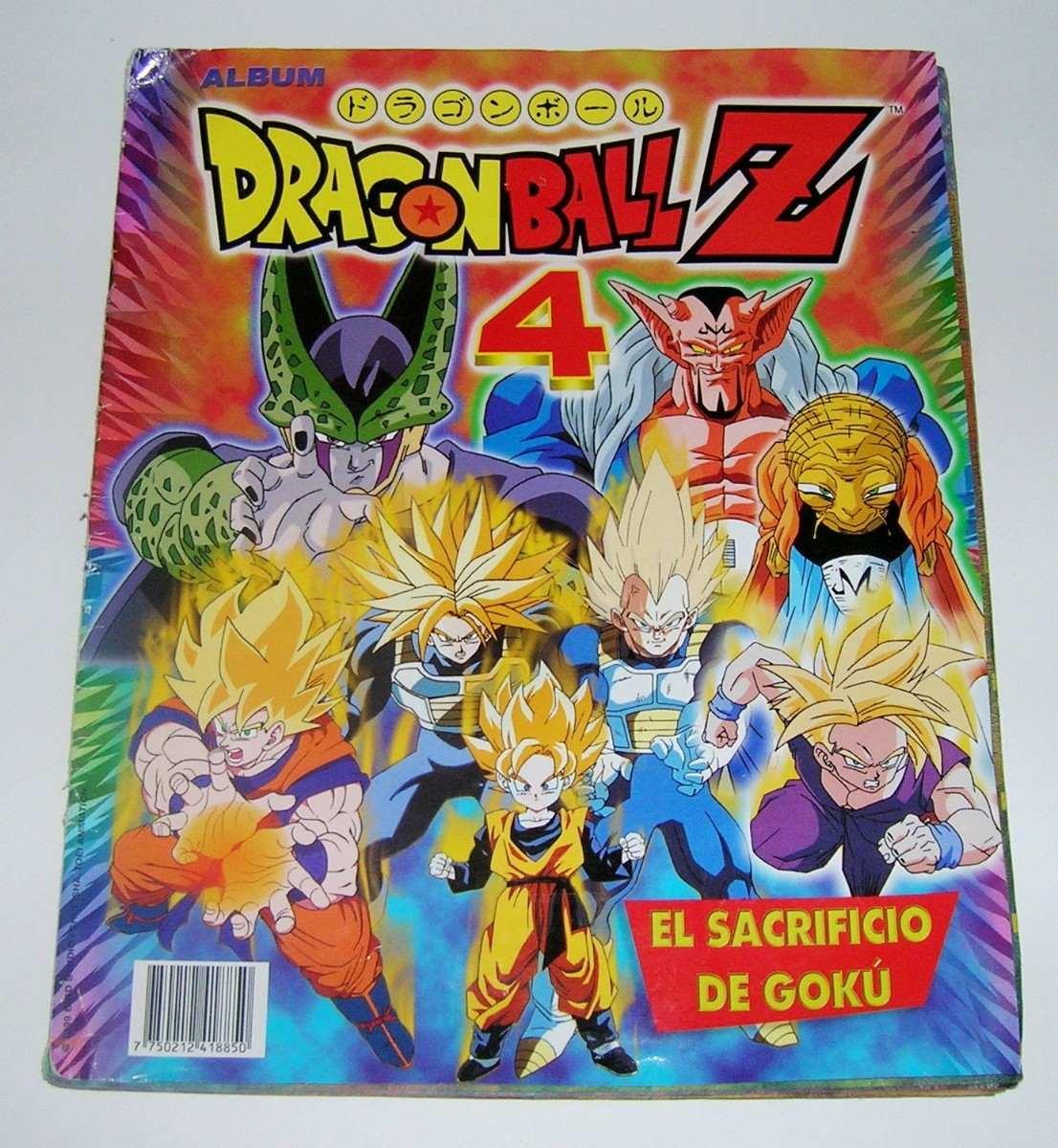 Dragon ball z 4 el sacrificio de goku album de estampas - Dragon ball z 4 ...