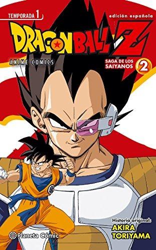 dragon ball z. anime saga de los sayanos 2 (manga); akira t
