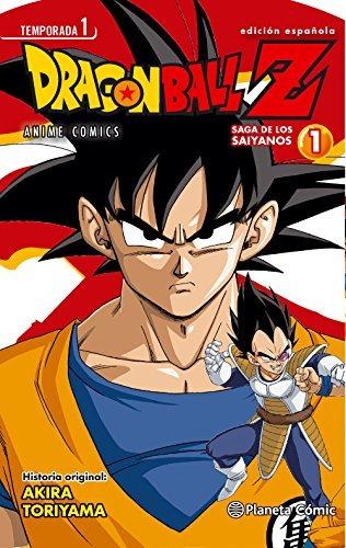 dragon ball z. anime series saiyan - número 1 (manga); akir