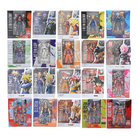 Dragon Ball Z Articulados Colección Figuras Con Repuestos