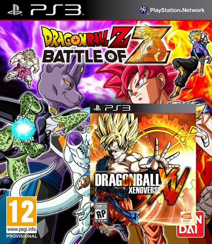 dragon ball z: battle of z + dragon ball xenoverse (ps3)