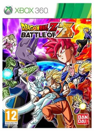 dragon ball z battle of z. xbox 360