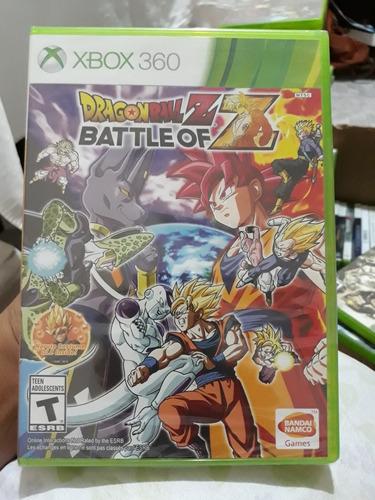 dragon ball z battle of z xbox 360