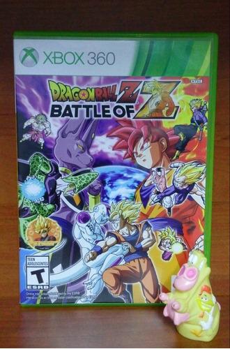 dragon ball z battle of z xbox 360. garantizado :)