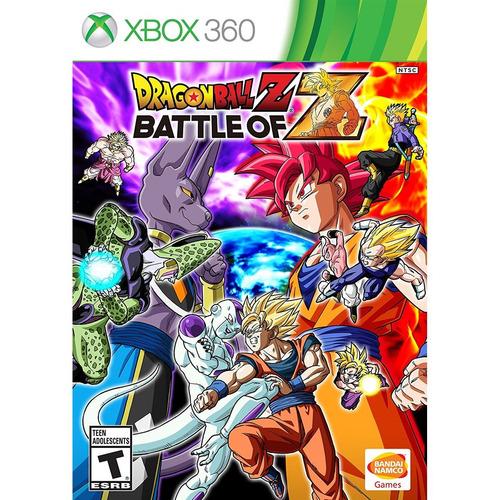 dragon ball z: battle of z xbox 360 mídia física lacrado