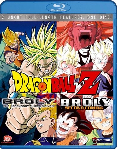 dragon ball z: broly double feature [blu-ray] [importado c43