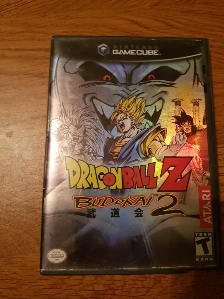 Dragon Ball Z Budokai 2 Gamecube - $ 399 00