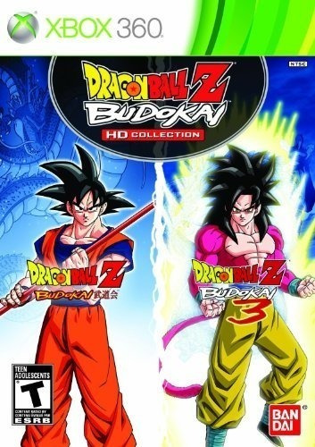 dragon ball z budokai hd collection - xbox 360