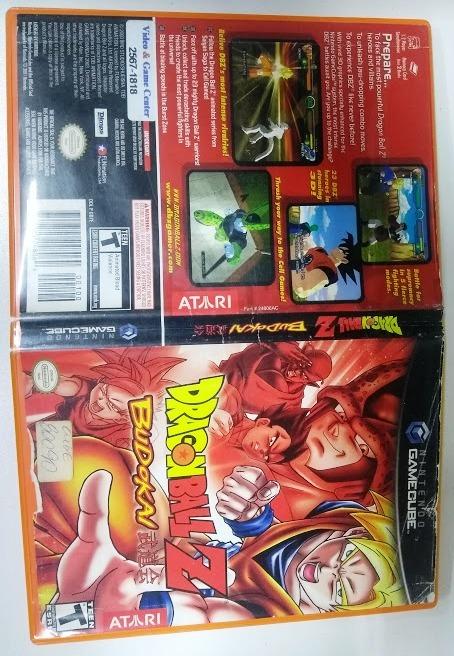 Dragon Ball Z Budokai Nintendo Gamecube