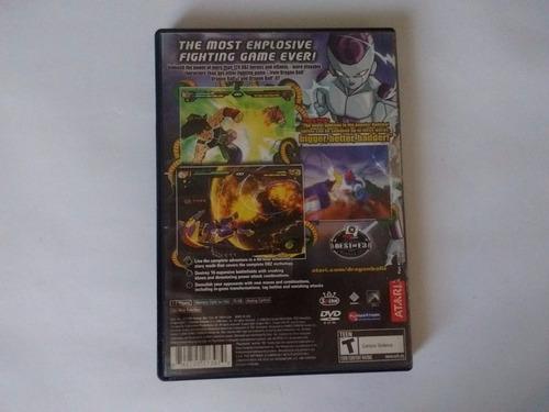 dragon ball z budokai tenkaichi 2 ps2 en game reaktor