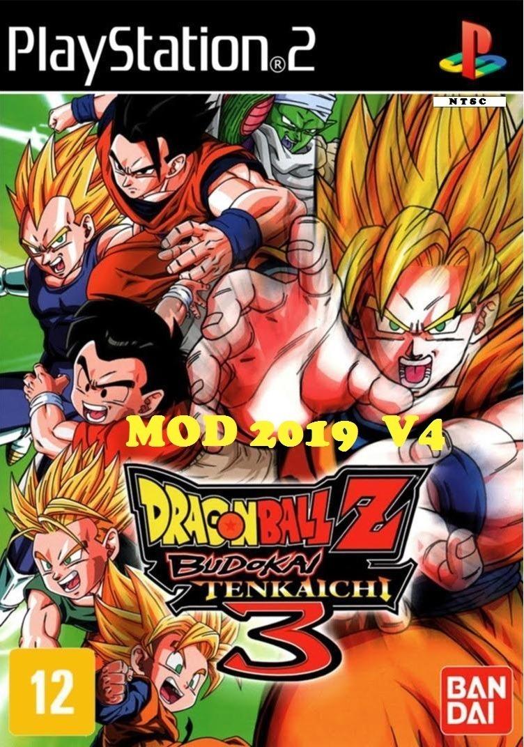 Dragon Ball Z Budokai Tenkaichi 3 Latino V4 Mod 2019 Ps2
