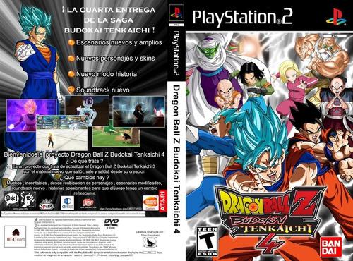 dragon ball z budokai tenkaichi 4 beta 6 v. latino  ps2 dvd
