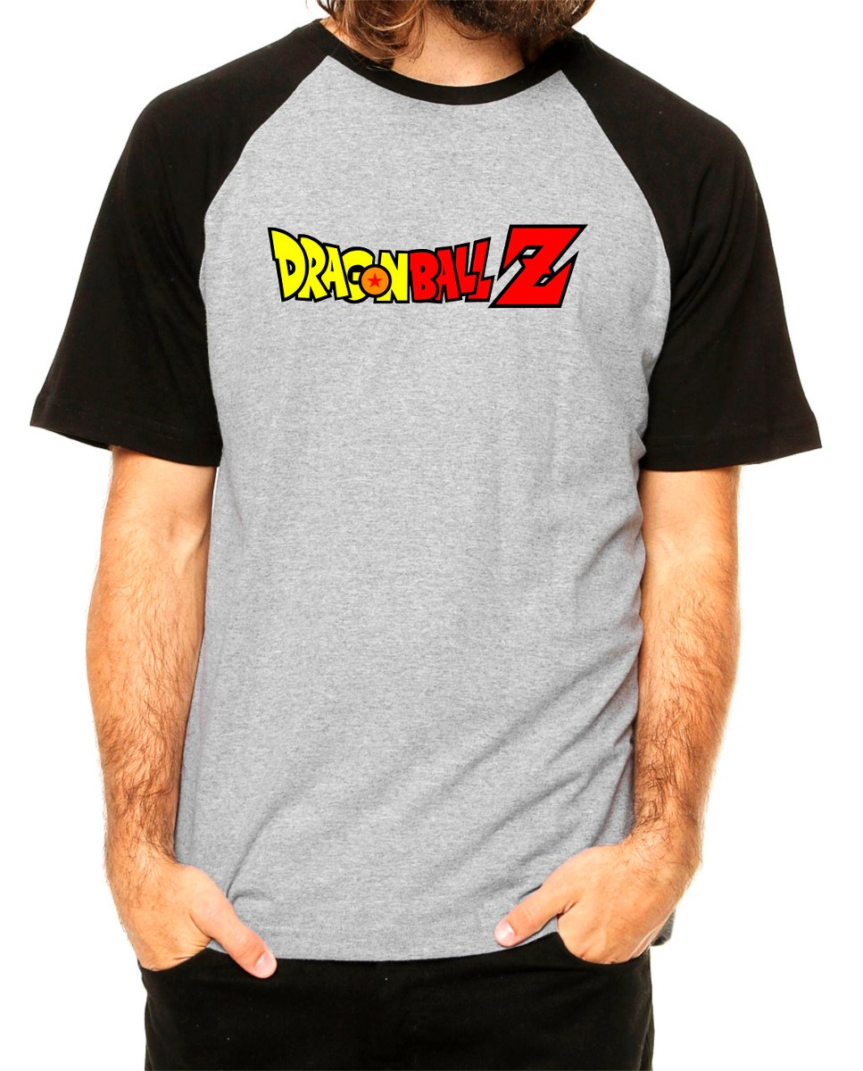 Dragon Ball Z Camiseta Raglan Desenho Anime Geek Naruto