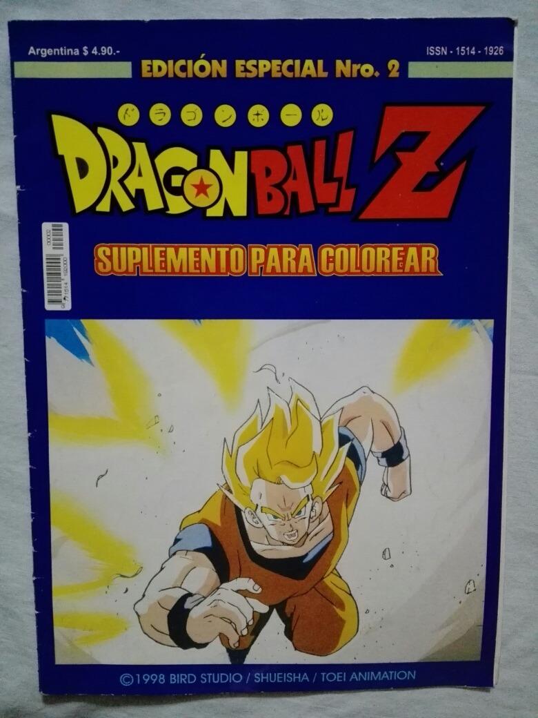 Dragon Ball Z Colorear (código 136) - $ 399,00 en Mercado Libre