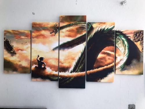 dragon ball z dbz quadros grande frete grátis
