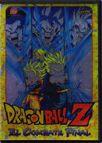 dragon ball z el combate final anime pelicula en dvd