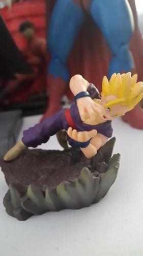 dragon ball z gohan ssj2 gashapon diorama bandai boneco dbz