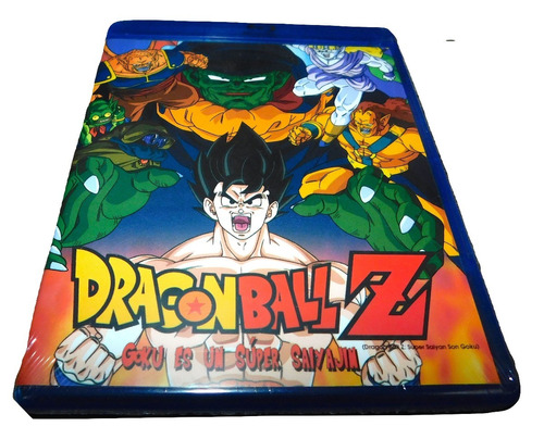 dragon ball z goku es un súper saiyajin bluray