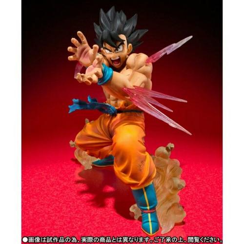dragon ball z goku posición de kame hame ha 14 cm